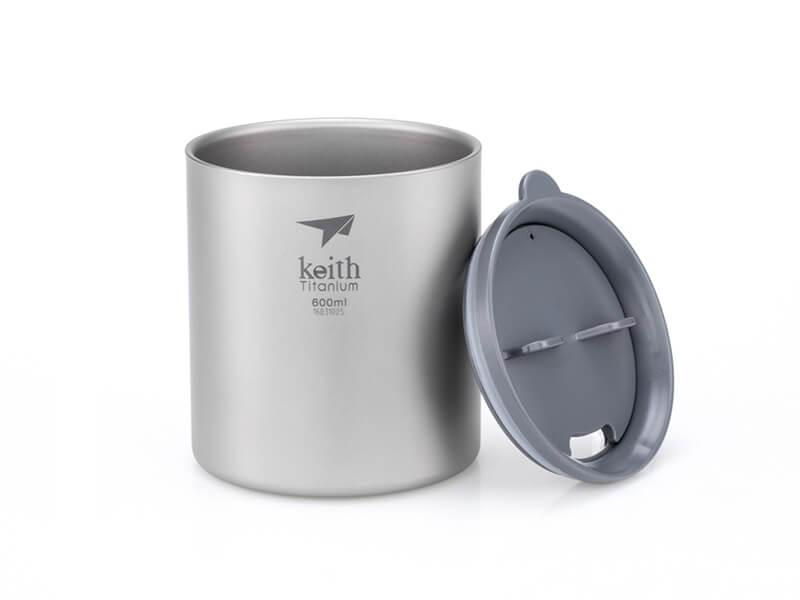 фото Терморужка Keith Ti3306 Ultralight Mug Titan 600ml