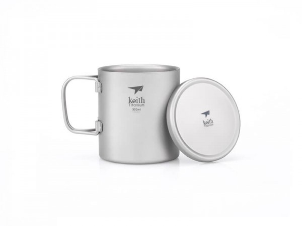 Терморужка Keith Ti3352 Ultralight Mug Titan 300ml