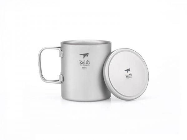 Терморужка Keith Ti3352 Ultralight Mug Titan 300ml