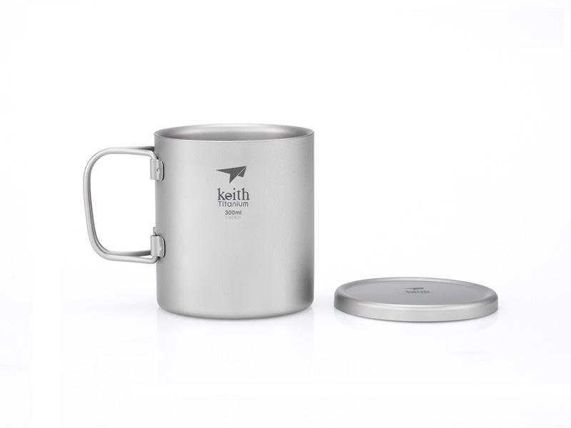 фото Терморужка Keith Ti3352 Ultralight Mug Titan 300ml