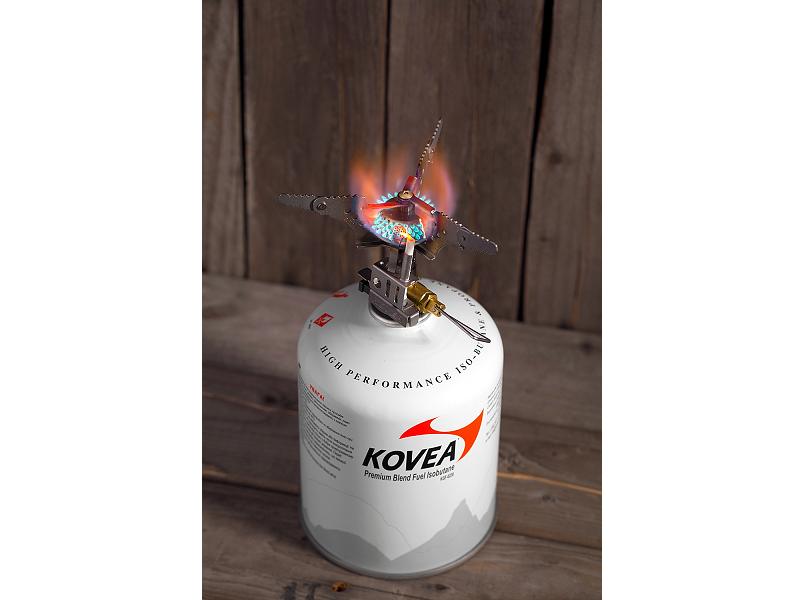 фото Газовая горелка Kovea Titanium Stove Camp-3 KB-0101
