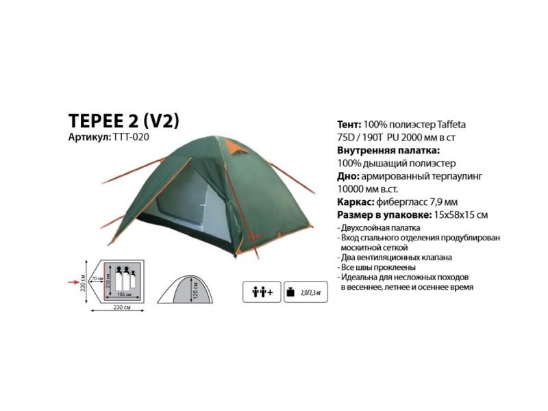 фото Палатка Totem Tepee 2 v2