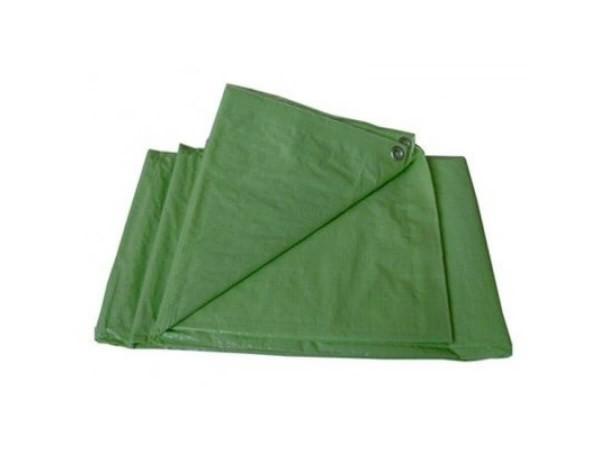 Тент Tramp Lite 6х8 м (терпаулинг, зеленый)
