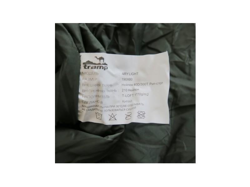 фото Спальный мешок Tramp Airy Light (t°комф. 15)