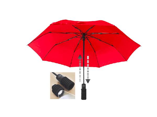 Зонт Euroschirm Light Trek flashlite red