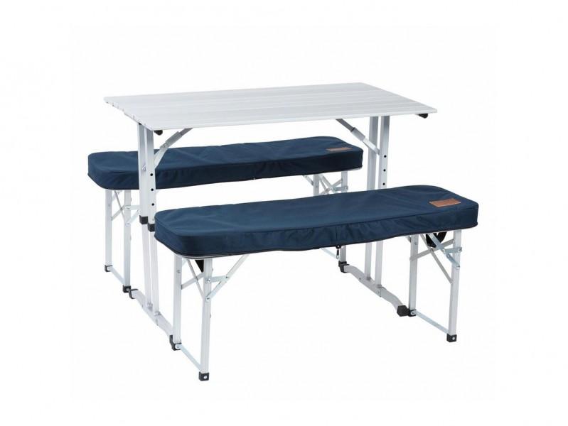 фото Складной стол со скамейками Camping World Optimus