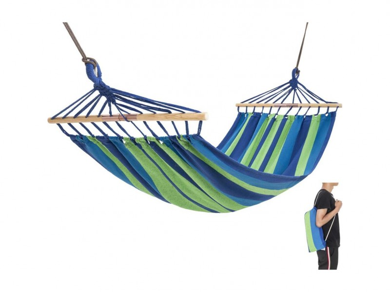 фото Гамак полотняный King Camp 3763 2-Folding Hardwood Hammock
