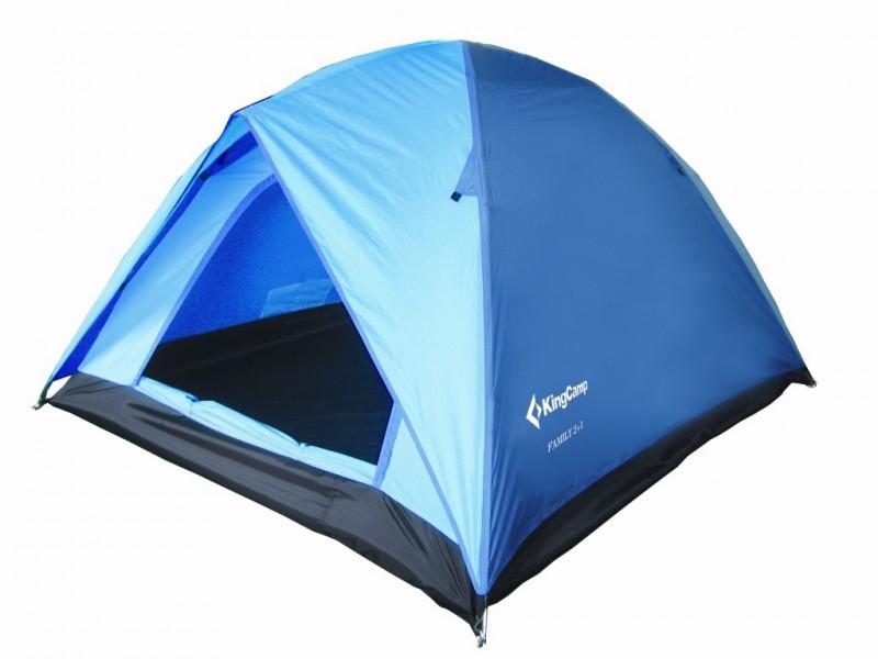 фото Палатка King Camp 2+1 3012 FAMILY Fiber