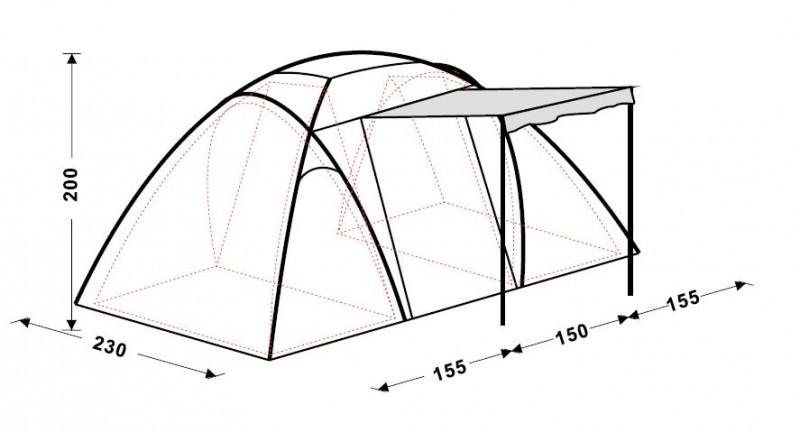 фото Палатка King Camp 3030 BARI Fiber