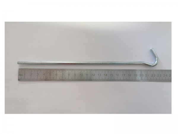 Набор стальных круглых колышков, 22 см (20 шт.)