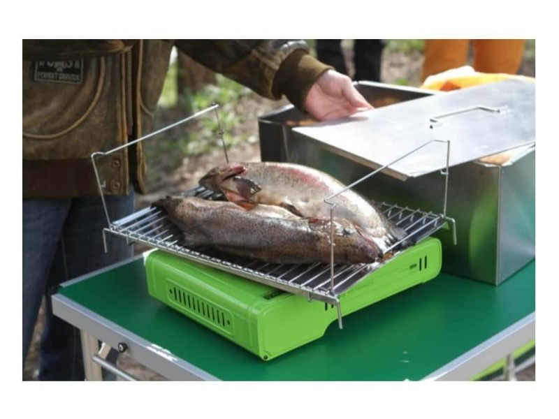 фото Универсальная коптильня Camping World Gurman M (2 яруса)