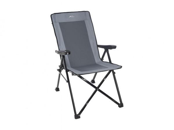 Кресло складное Trek Planet Cascade Grey с регулируемой спинкой