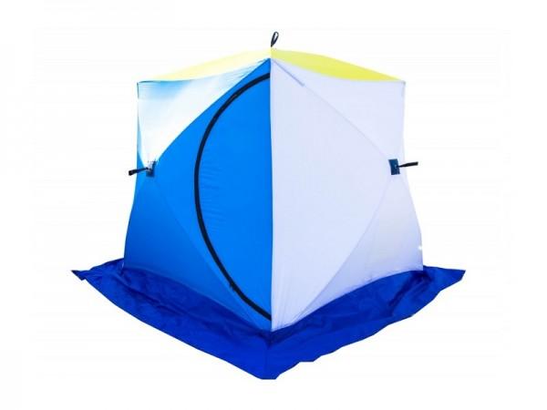 Палатка СТЭК КУБ 2 трехслойная дышащая