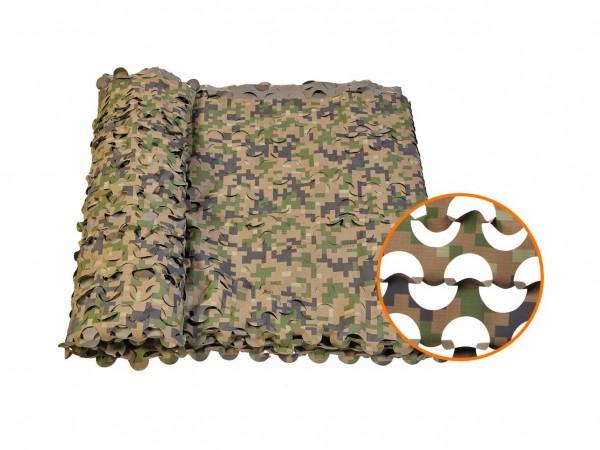 Маскировочная сетка Нитекс Пейзаж Лес 2.2x6