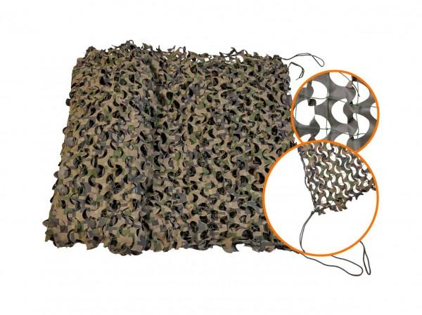 Маскировочная сетка Нитекс Пейзаж-Профи Лес 3D 1.8x3