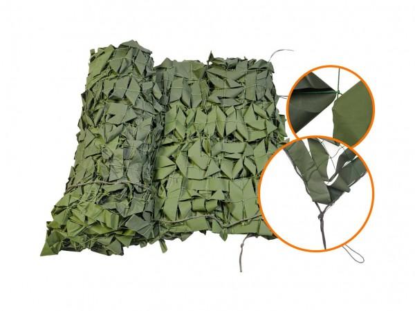 Маскировочная сетка Нитекс Стандарт Зеленая 2x3