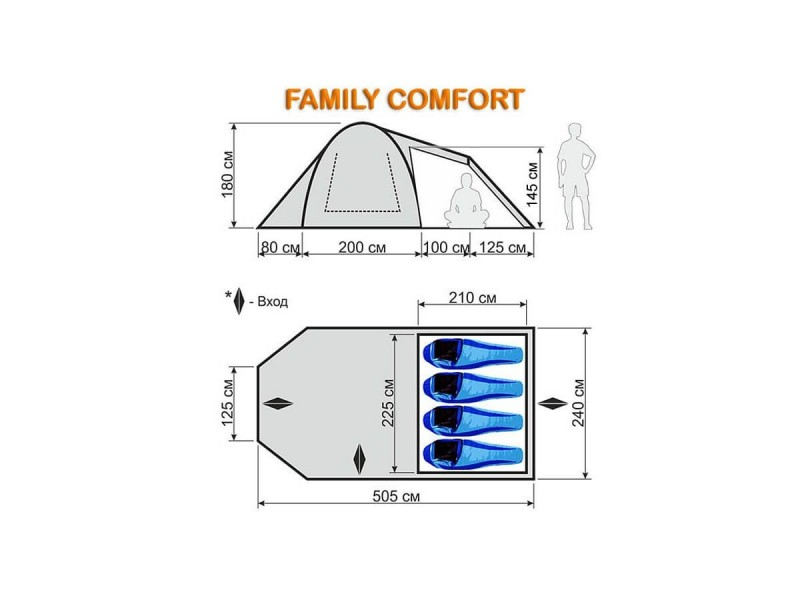 фото Палатка-автомат Maverick Family Comfort