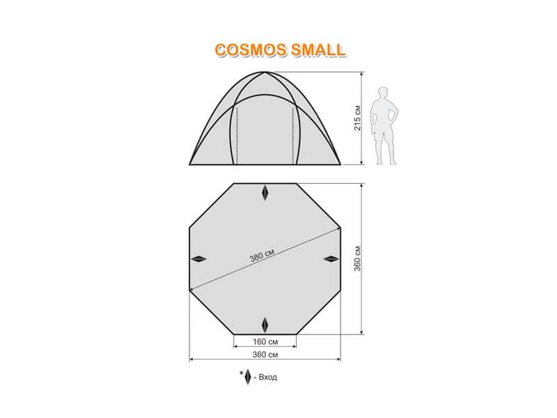 фото Шатёр-автомат Maverick Cosmos Small Khaki