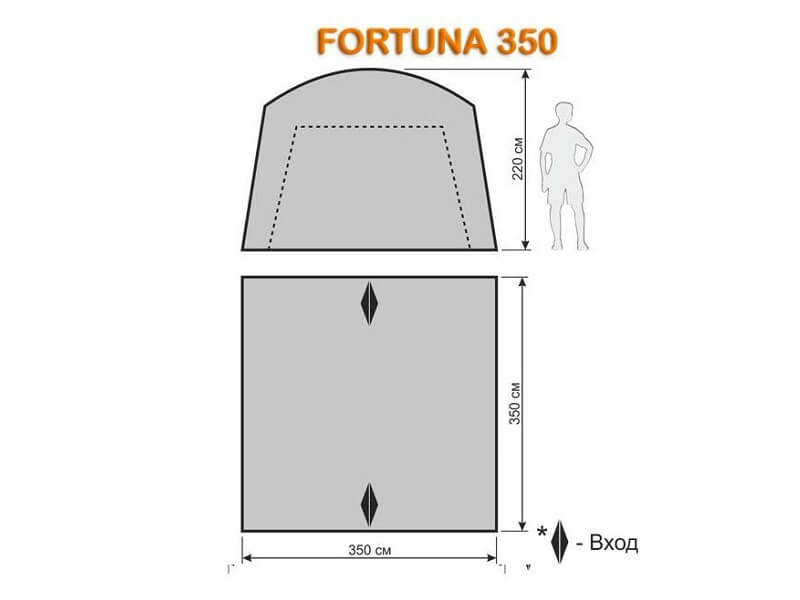 фото Шатёр-автомат Maverick Fortuna 350 Premium