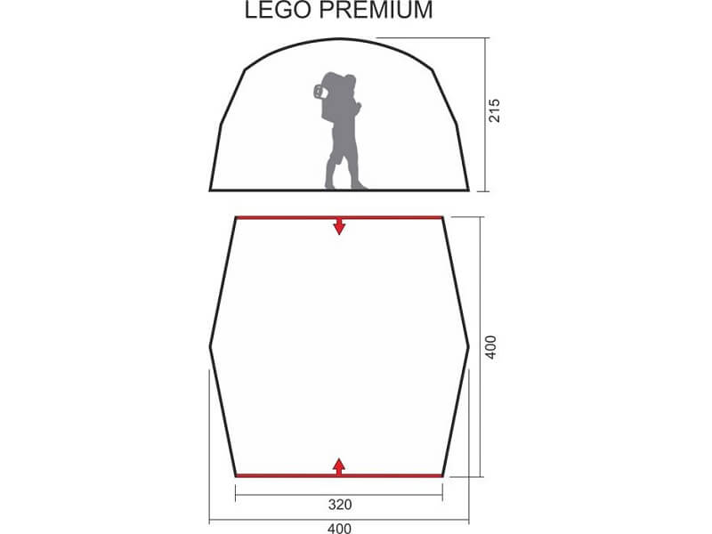 фото Шатёр-автомат Maverick Lego Premium