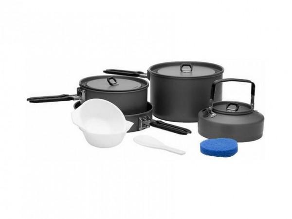 Набор посуды Fire-Maple Feast 4 Black на 4-5 человек