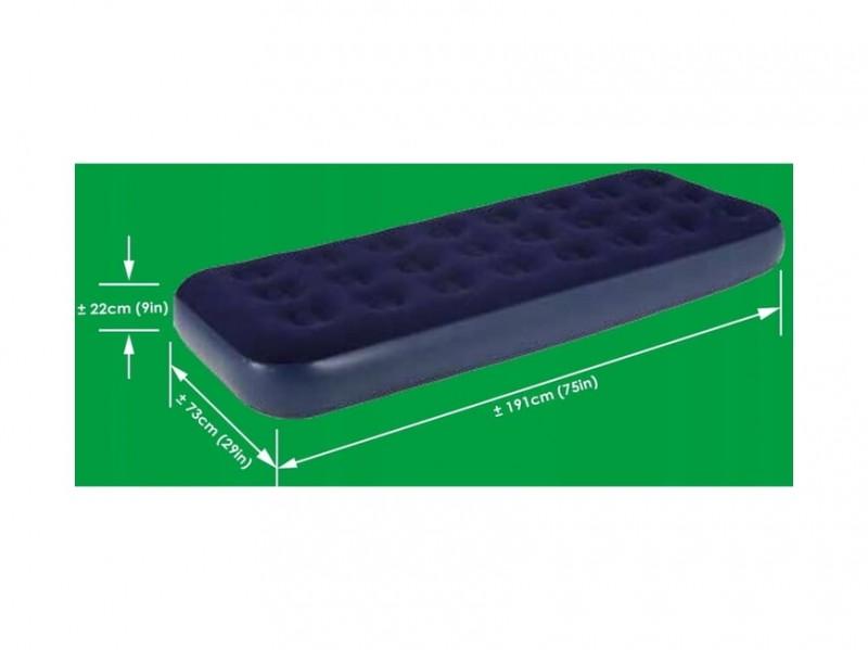фото Надувная кровать Jilong Relax Flocked Air Bed Single