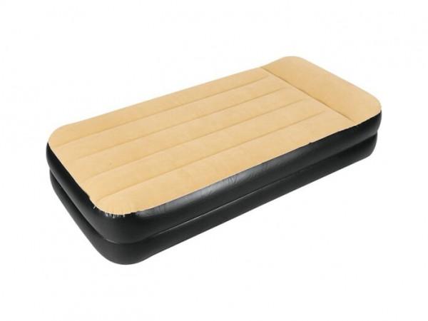 Надувная кровать с электрическим насосом Jilong Relax High Raised Air Bed Twin I-BEAM