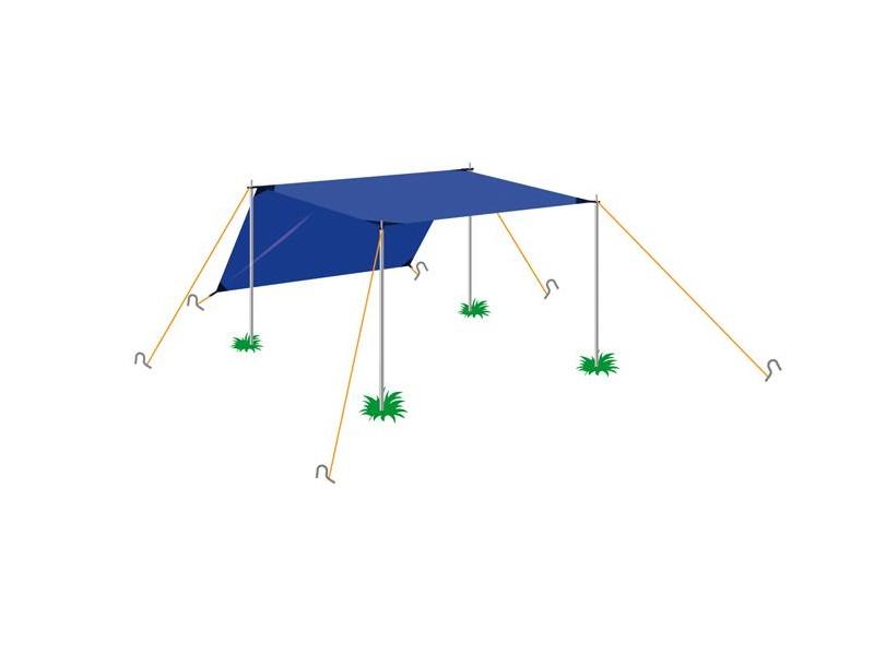 фото Палатка Normal Тент 1 (4х4)