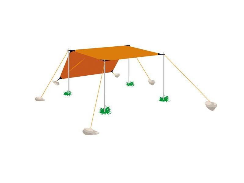 фото Палатка Normal Тент 3 Si (3х5)
