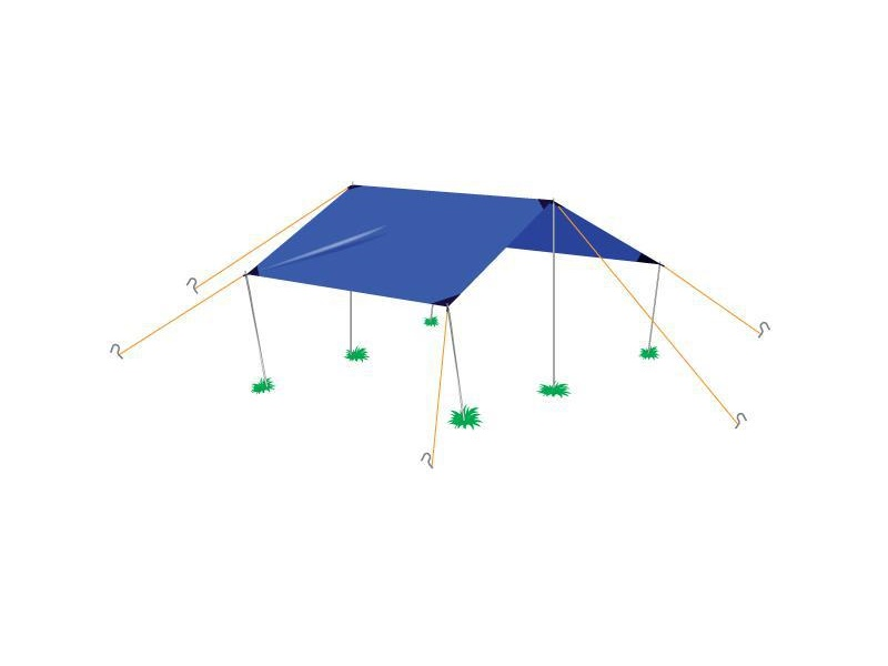 фото Палатка Normal Тент 4 Si (4х6)