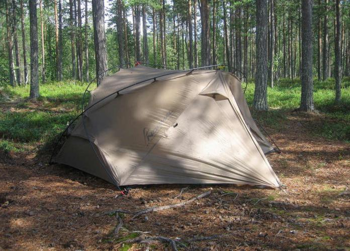фото Палатка Normal Траппер 2 Si/PU