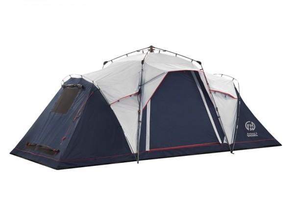 Палатка полуавтоматическая FHM Antares 4 black-out