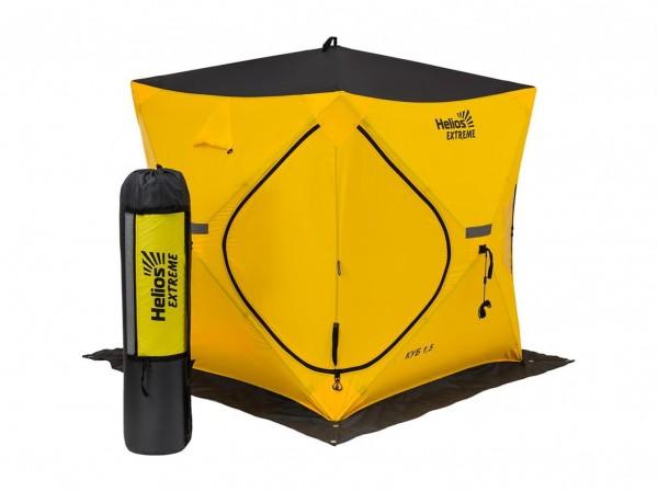 Палатка Helios Куб EXTREME V2.0 1,5х1,5м (широкий вход)