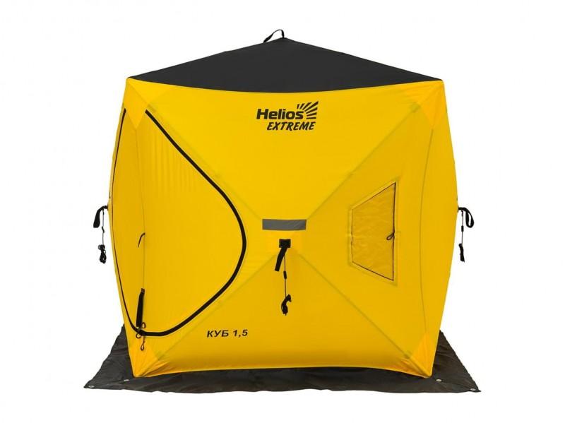 фото Палатка Helios Куб EXTREME V2.0 1,5х1,5м (широкий вход)