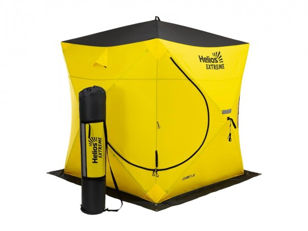 Палатка Helios Куб EXTREME V2.0 1,8х1,8м (широкий вход)
