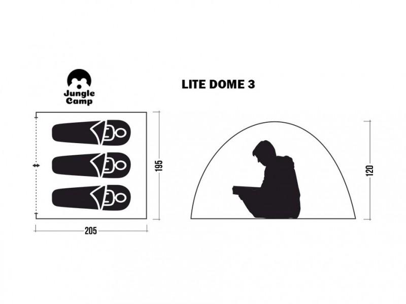 фото Палатка Jungle Camp Lite Dome 3
