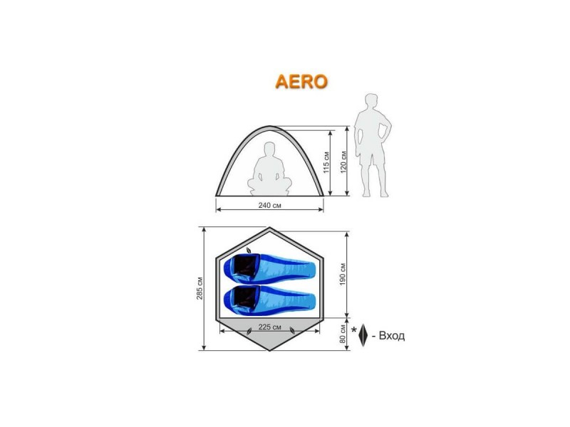 фото Автоматическая палатка Maverick Aero