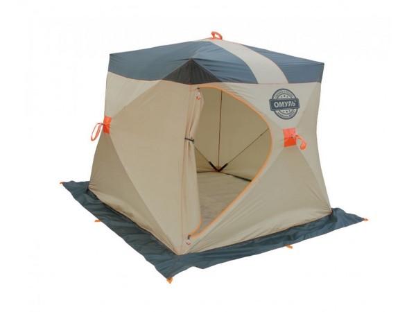 Палатка для зимней рыбалки Митек Омуль Куб-1