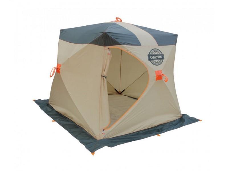 фото Палатка для зимней рыбалки Митек Омуль Куб-1