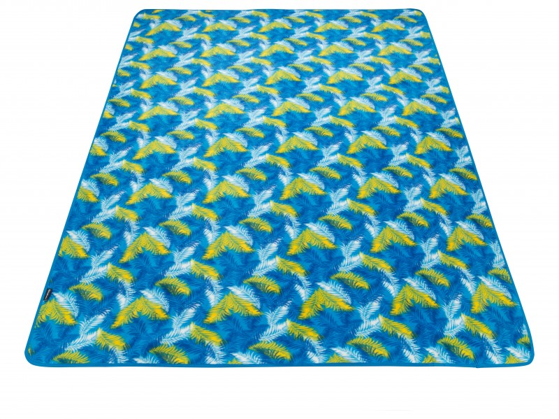 фото Плед для пикника King Camp 4707 PicnicBlanket Palm Blue 200x150 см