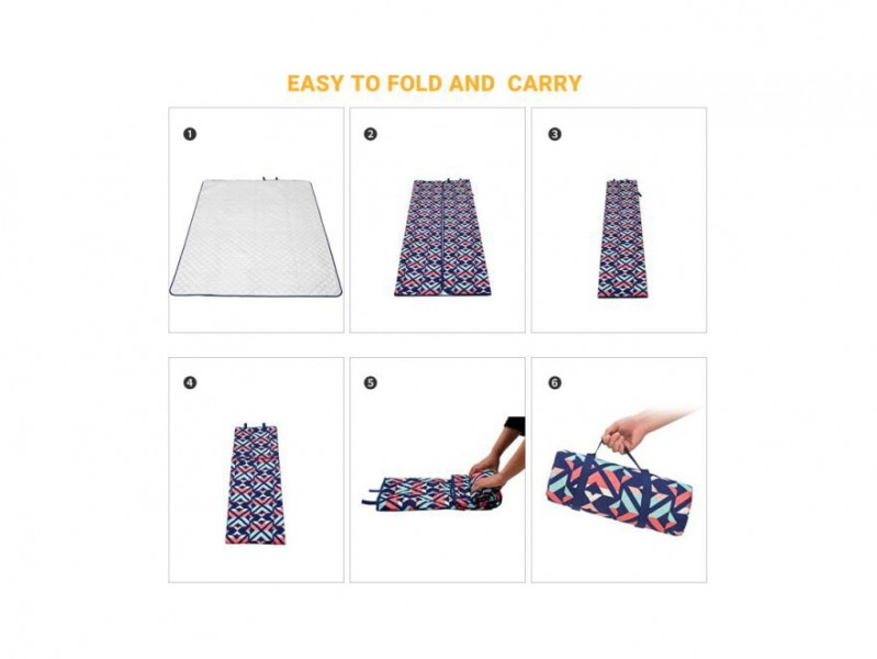 фото Плед King Camp 2006 Ariel PicnicBlanket 300x300 см