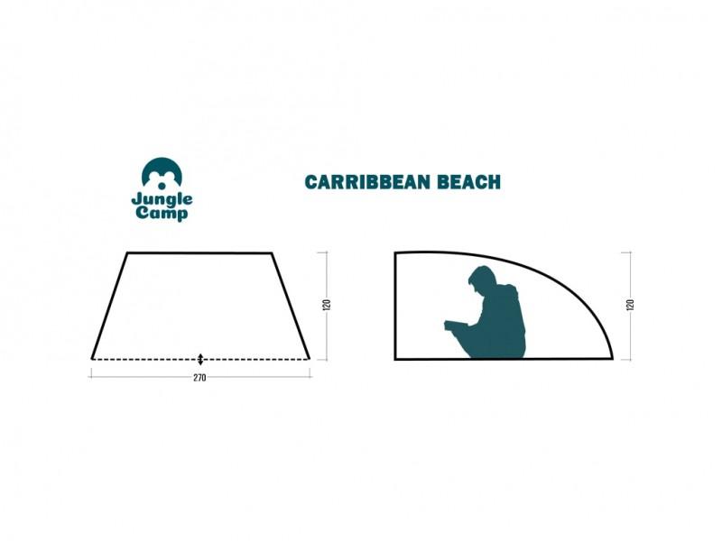 фото Пляжный тент Jungle Camp Caribbean Beach