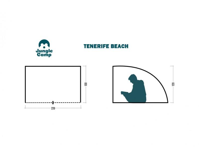 фото Пляжный тент Jungle Camp Tenerife Beach