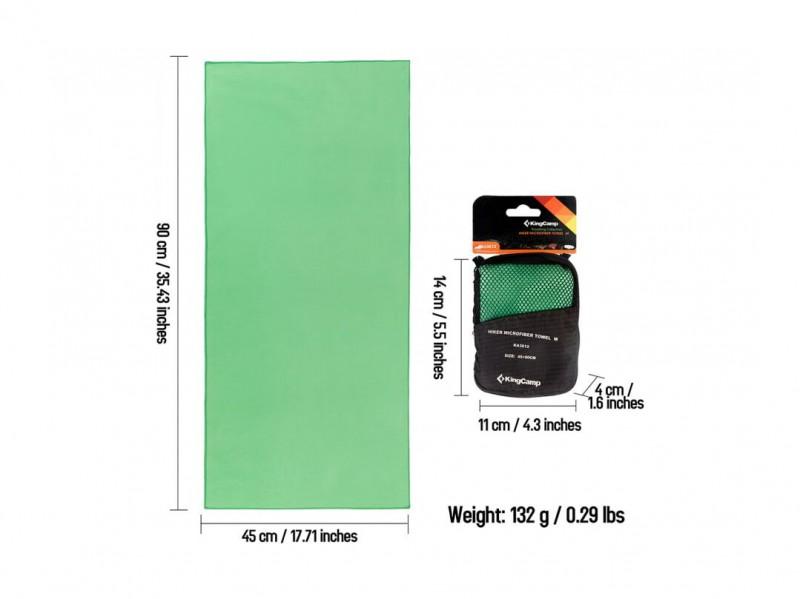 фото Полотенце King Camp 3612 HikerMicroFibre Towel M 45x90 см