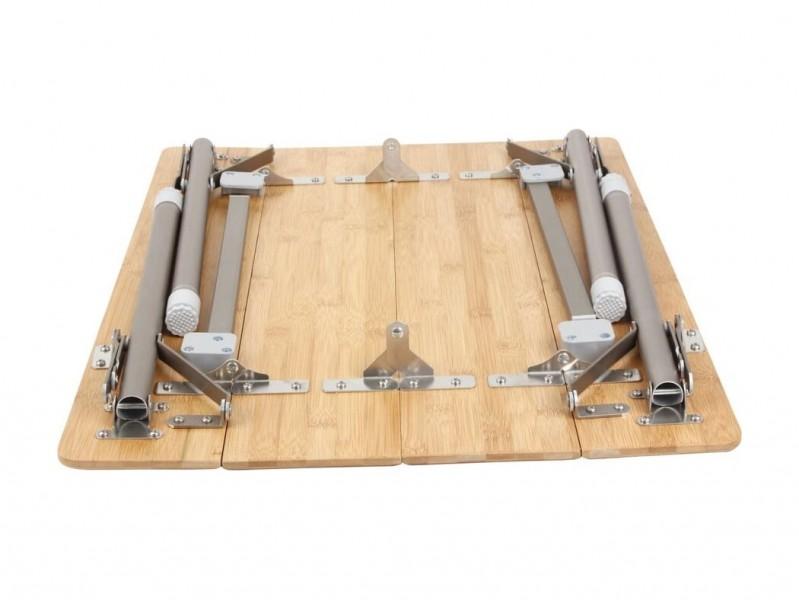 фото Стол складной King Camp 2018 4-folding Bamboo table