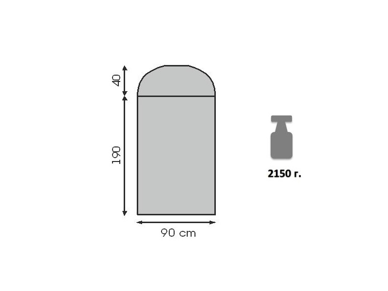 фото Спальный мешок Talberg BUSSEN -11 (t°комф. 9)