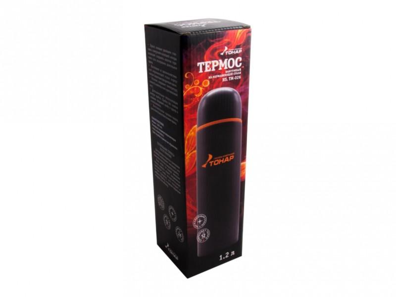 фото Термос 1200мл Тонар HS.TM-026 черный