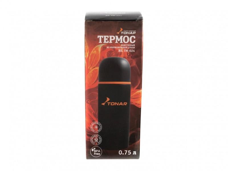 фото Термос 750мл Тонар HS.TM-024 черный