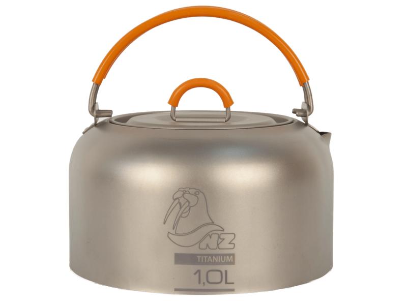 фото NZ - Походный чайник Ti Kettle 1000 ml TK-101