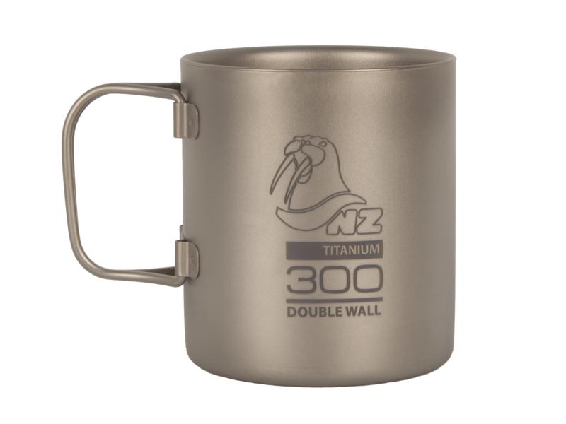 фото NZ - Термокружка Ti Double Wall Mug 300 ml TMDW300FH